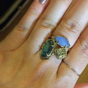 Kendra Scott Ring Set Size 7